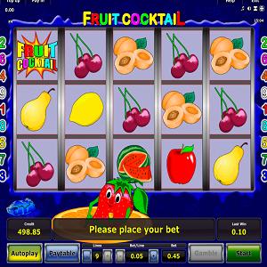 Игровые автоматы фрукт коктейль